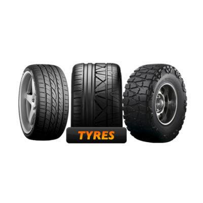 TYRES AND WHEEL